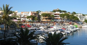 Cala Ratjada property market is surrounded by harbour.