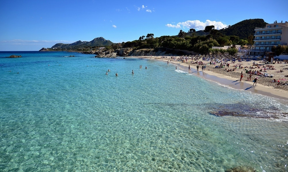 Cala Ratjada property market ranges to Son Moll Beach.