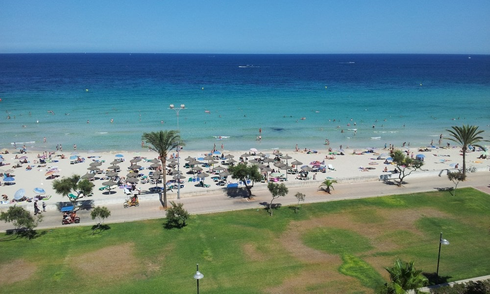 Cala Millor property view.