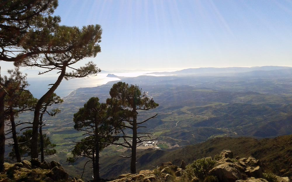 New Golden Mile property buyers enjoy spectacular views from Sierra Bermeja National Park.