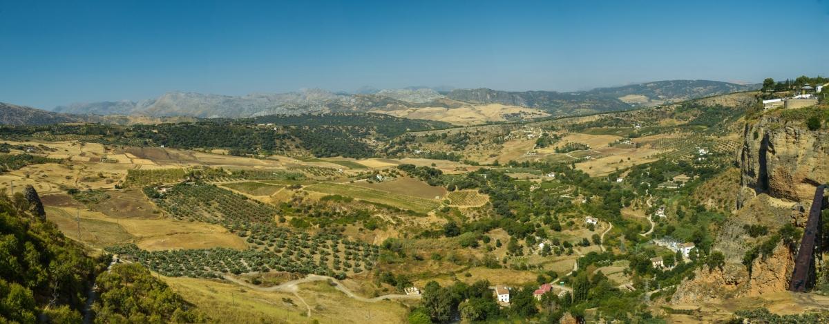 View to Monte Mayor property ronda mountain casafari