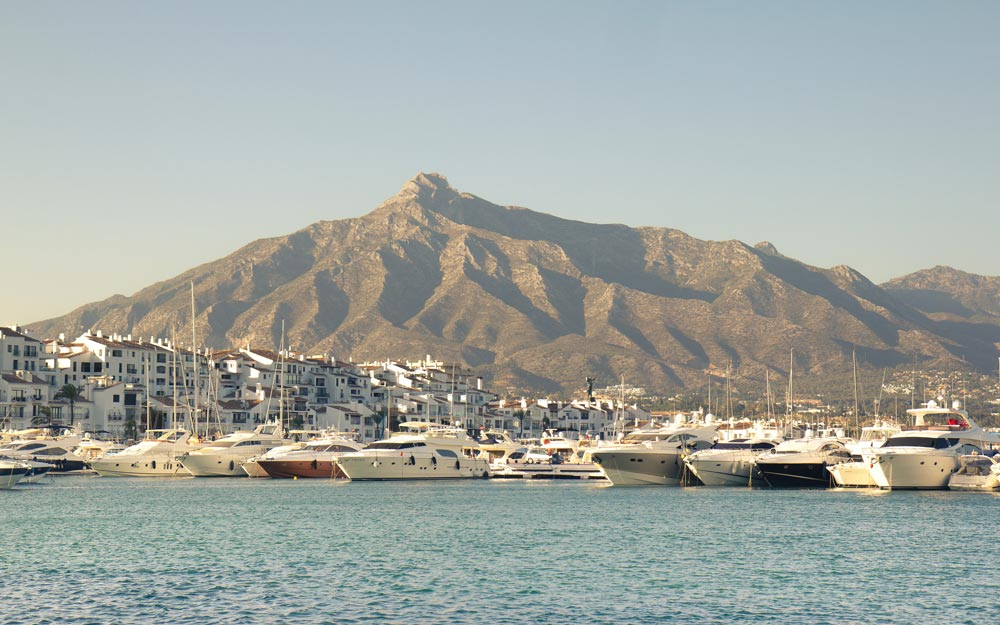 Scenic Puerto Banus is praised by Marbella Old Town property buyers.