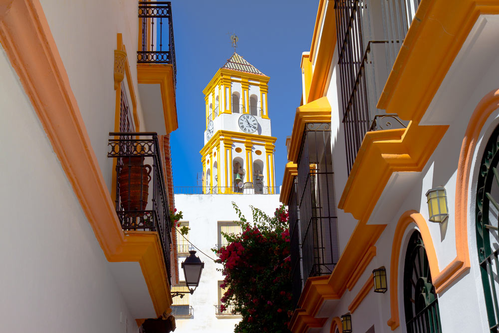 Marbella Old Town property with a beautiful view of the historic centre.