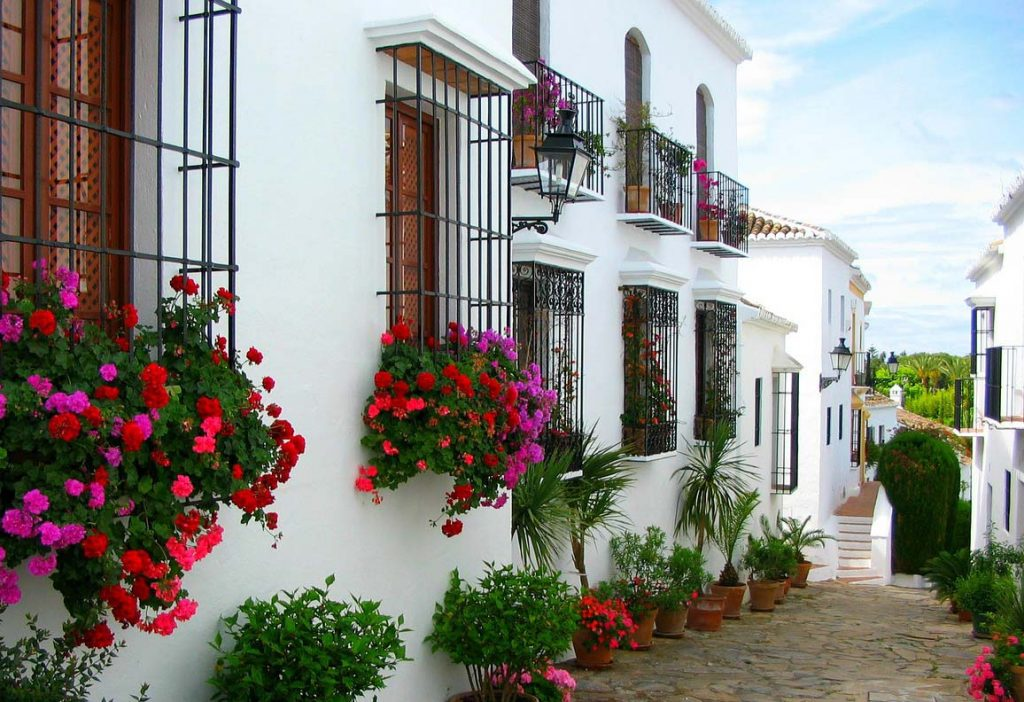 Andalusian charm of Marbella Old Town property