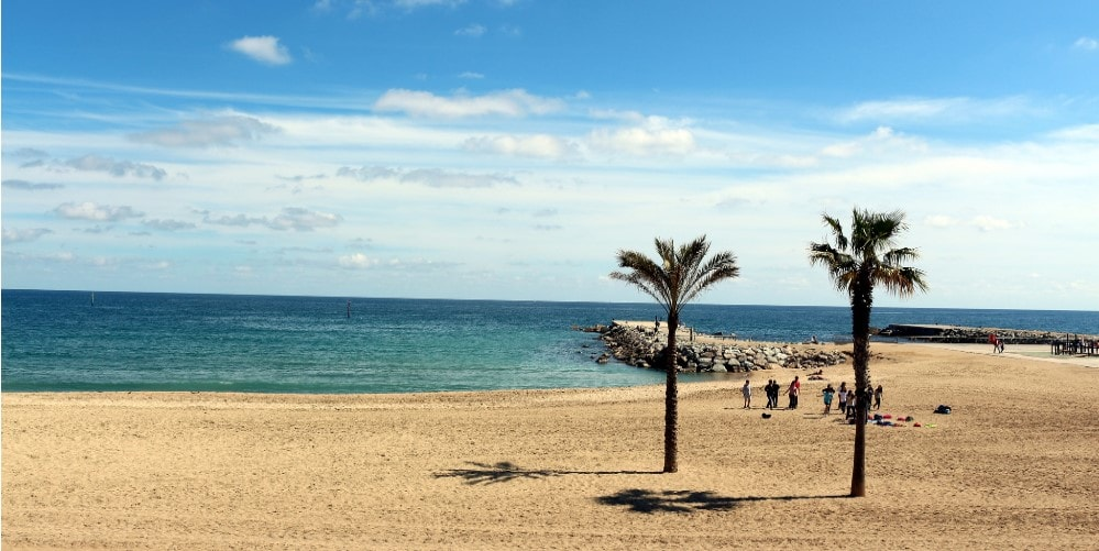 beach of barceloneta property guide casafari spain ciutat vella barcelona