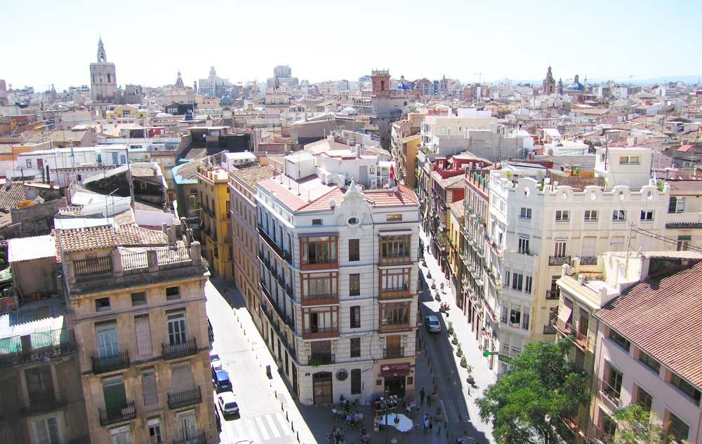 Ciutat Vella property market view.