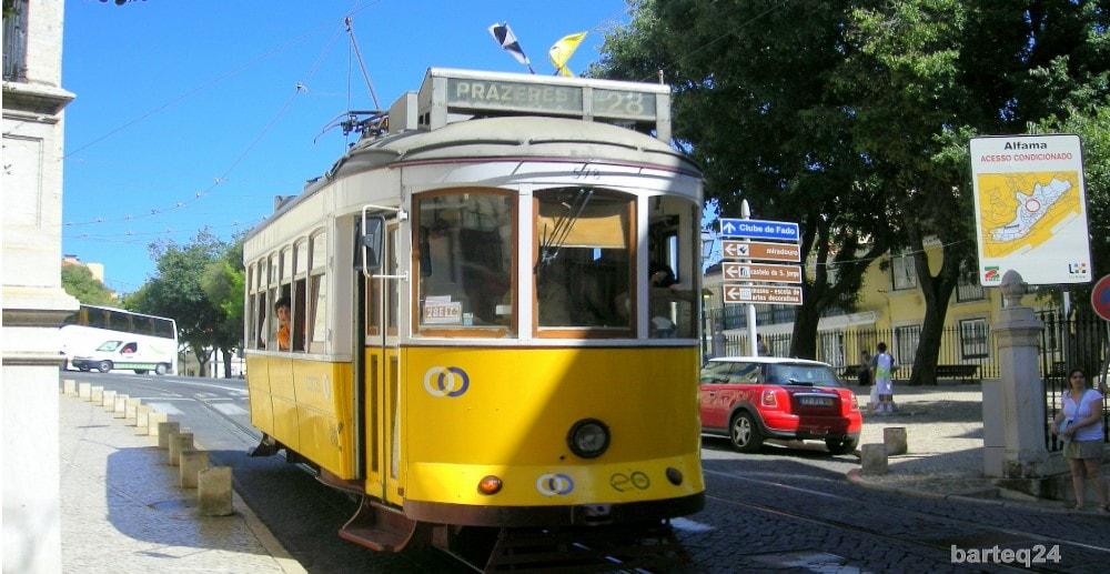 tram28 passing alfama property lisbon casafari