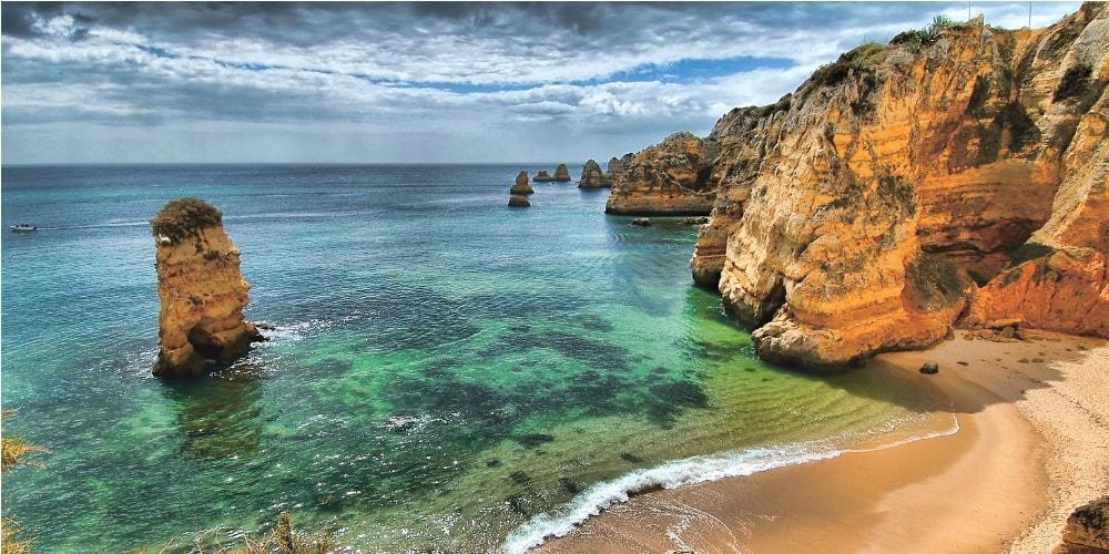 Traumhafter Strand in algarve Immobilien Führer casafari portugal