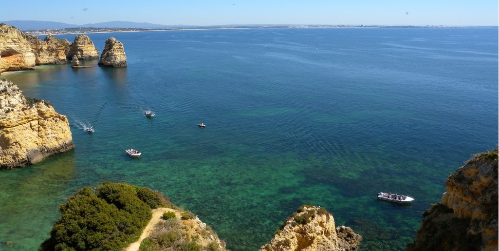 beautiful sea of algarve by casafari algarve property guide portugal-min